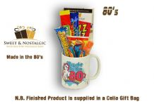 Made in the 80's Mug - Girls - with/without a selection of 80's Retro Sweets